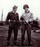 Elbert S. Jemison, Jr. & J. R. Wingate in Germany 1945