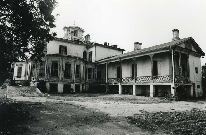 Back Lawn of Mansion in 1991