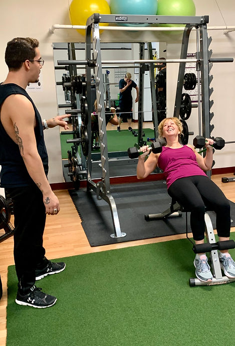 energized personal training