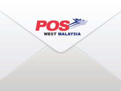 West Malaysia Postage (Return Film Strip)