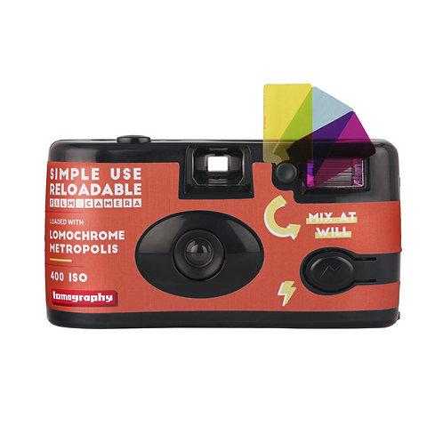 Lomography Metropolis 400 Reloadable Film Camera 27 EXP