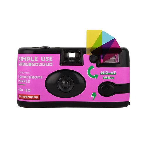 Lomography Lomo Purple 400 Reloadable Film Camera 27 EXP