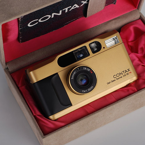 Contax T2 Gold Edition With Box
