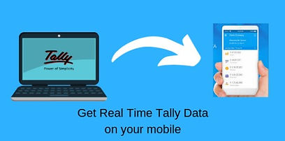 how to see my Tally business data on mobi app possible herele