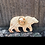 Thumbnail: Desert Bear Enamel Needle Minder