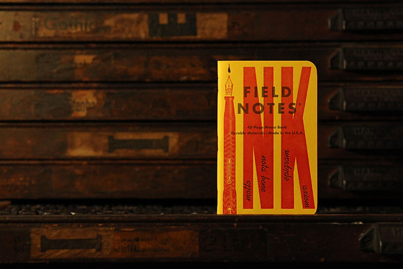 Field Notes 3 Pack - United States of Letterpress