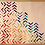 Thumbnail: Geometric Rainbow Quilt - Ombre Arrows