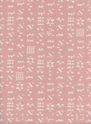 Cotton + Steel - Moonrise Patch - Pink Rose Taupe