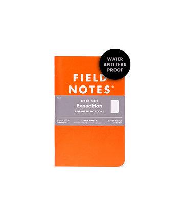 Field Notes 3 Pack - Waterproof, Tearproof
