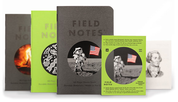 Field Notes 3 Pack - Build Your Own Cover Vignette
