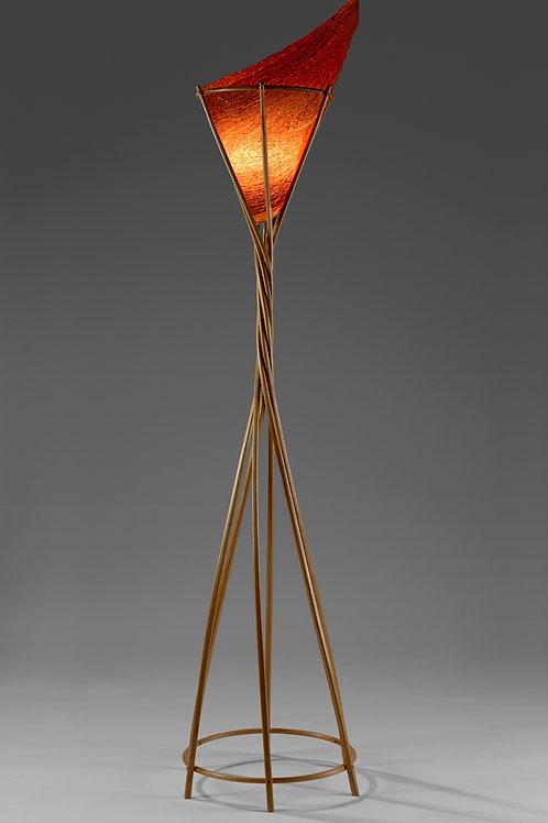 Mini Prometheus Lamp - White Oak
