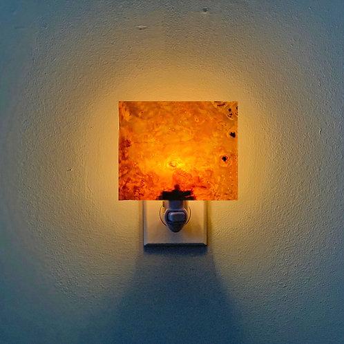 Dryad Night Light (Mappa Burl)