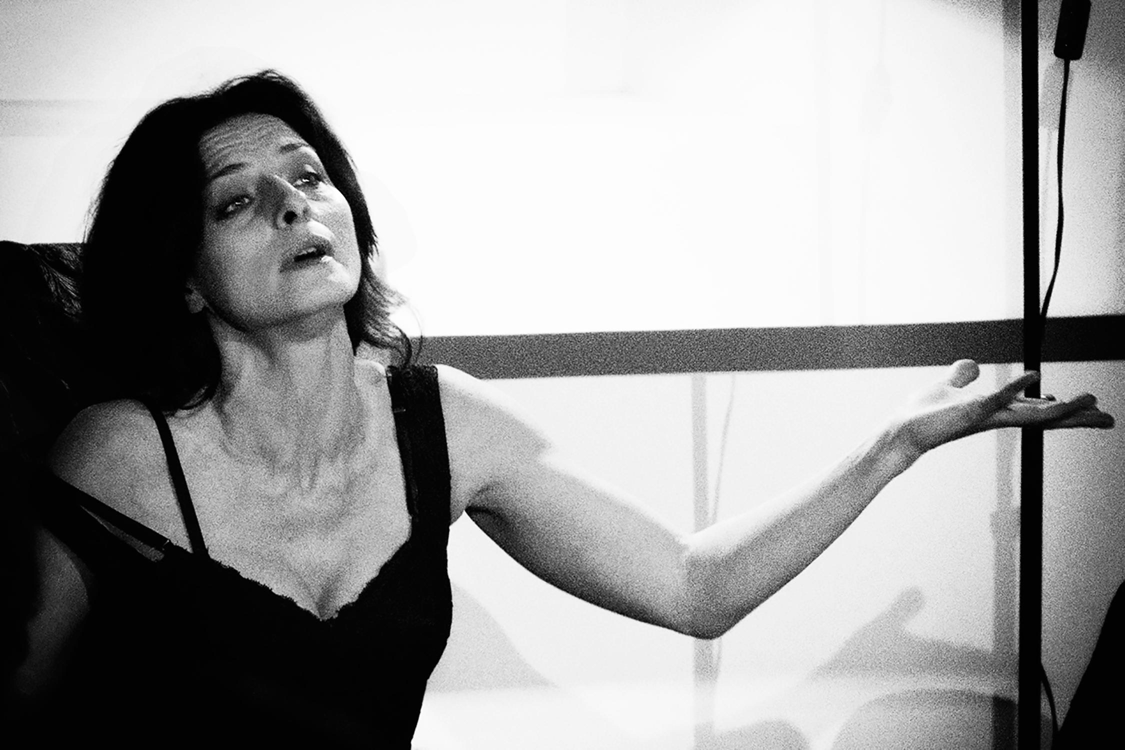 """Lidia Vitale in """"Solo Anna"""""""
