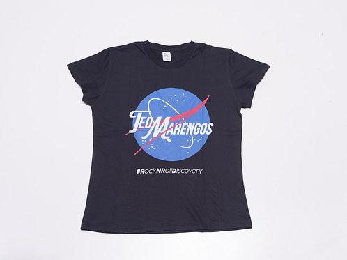 Camiseta Rock N Roll Discovery Preta