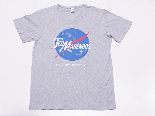 Camiseta Rock N Roll Discovery Cinza