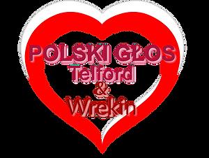 Polski Glos Telford Wrekin Logo Serce