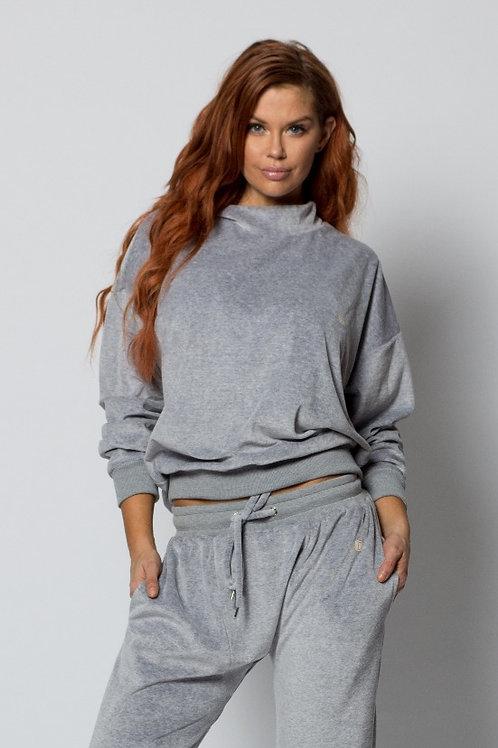 Grey Boyfriend Pullover