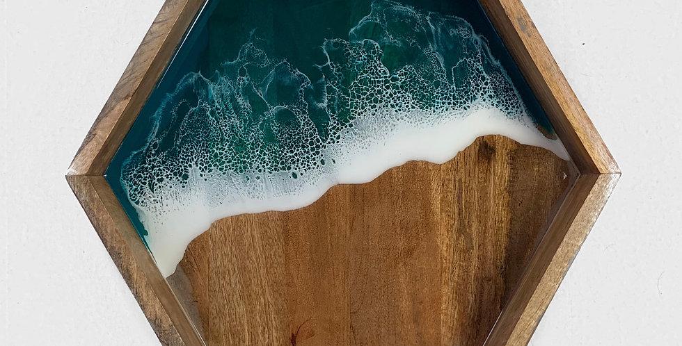 Hexagon Ocean Tray