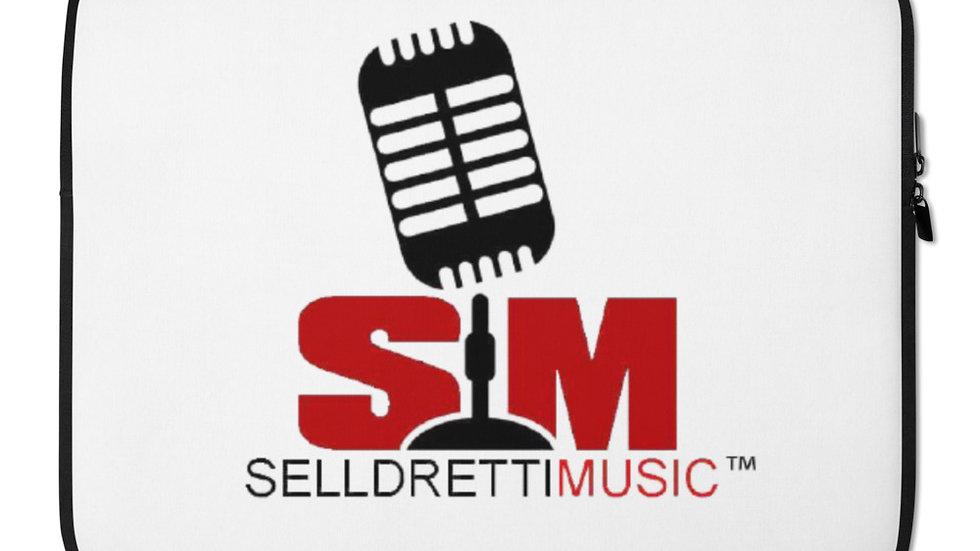 Selldretti Music Laptop Sleeve (White)