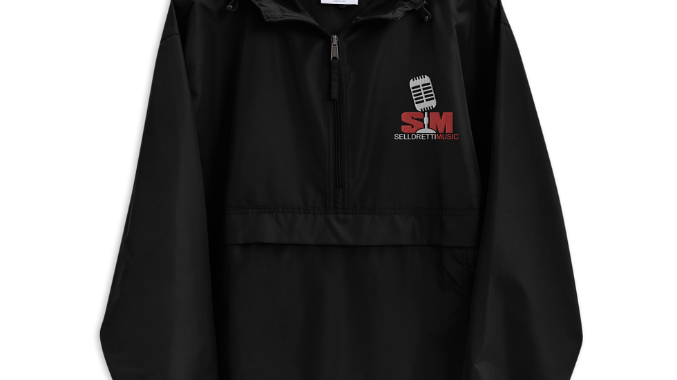 Selldretti Music Champion Packable Jacket (Black)