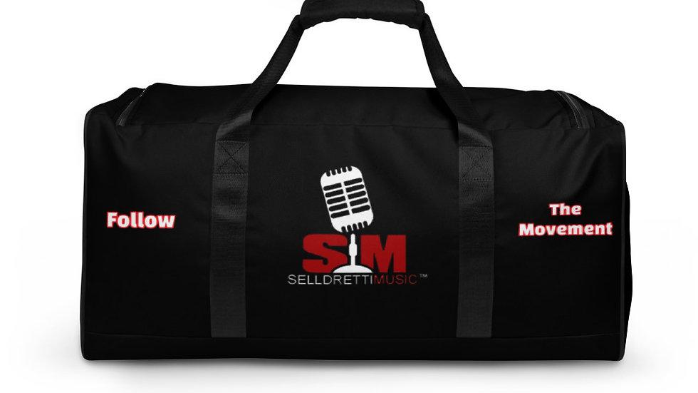 Selldretti Music Duffle Bag (Black)