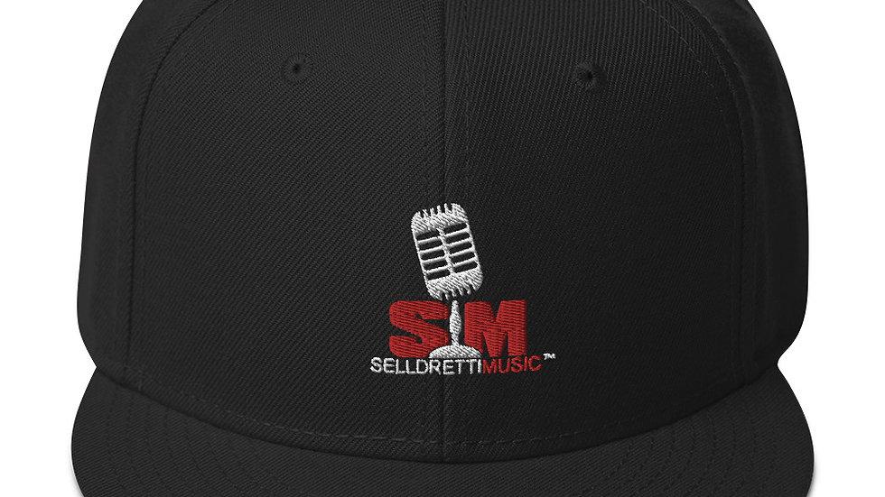 Selldretti Music Snapback Hat (Black)