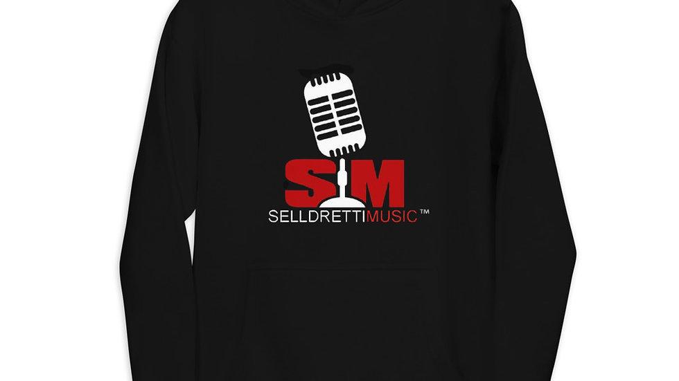 Selldretti Music Unisex Hoodie (Black)