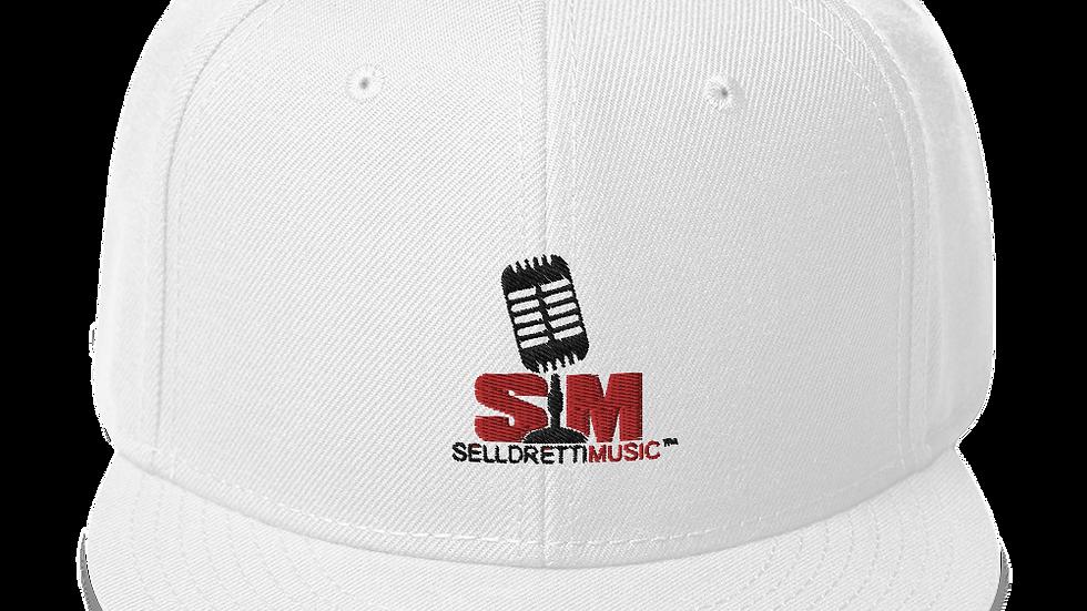 Selldretti Music Snapback Hat (White)