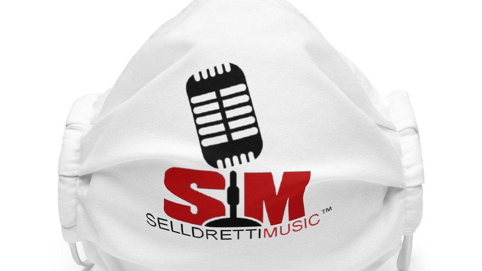 Selldretti Music Premium Face Mask (White)