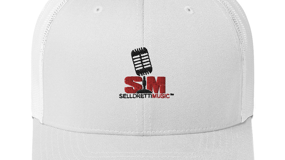 Selldretti Music Trucker Cap (White)