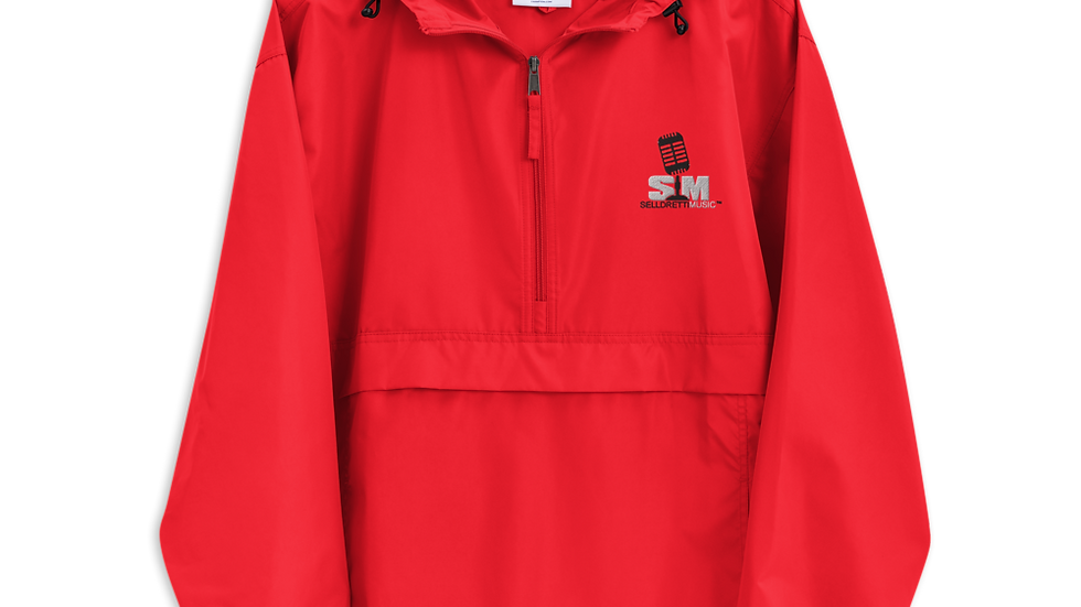 Selldretti Music Champion Packable Jacket (Red)