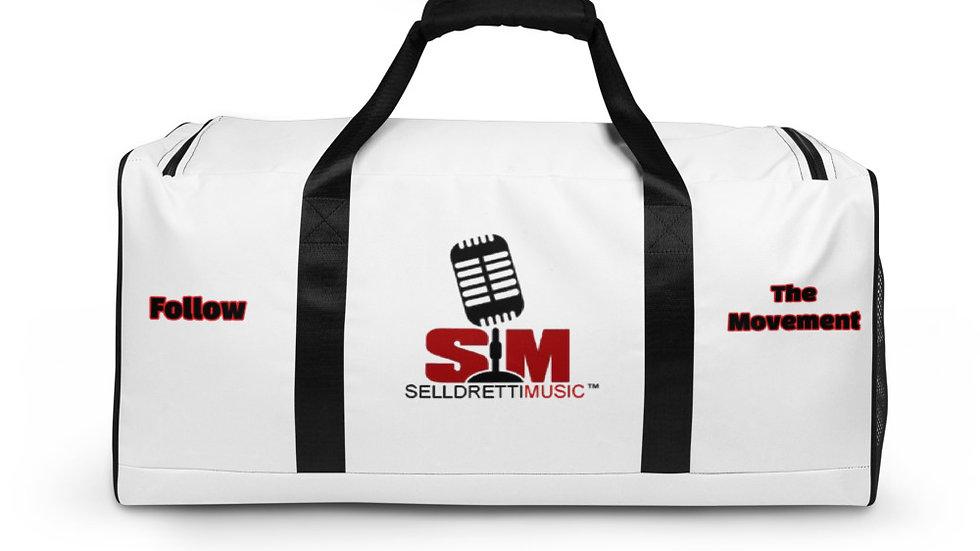 Selldretti Music Duffle Bag (White/Black)