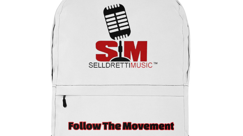 Selldretti Music Backpack (White/Black)