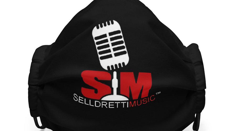 Selldretti Music Premium Face Mask (Black)