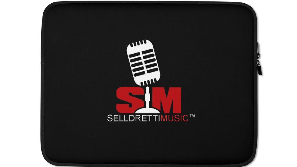 Selldretti Music Laptop Sleeve (Black)