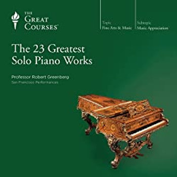 23 Greatest Solo Piano Works
