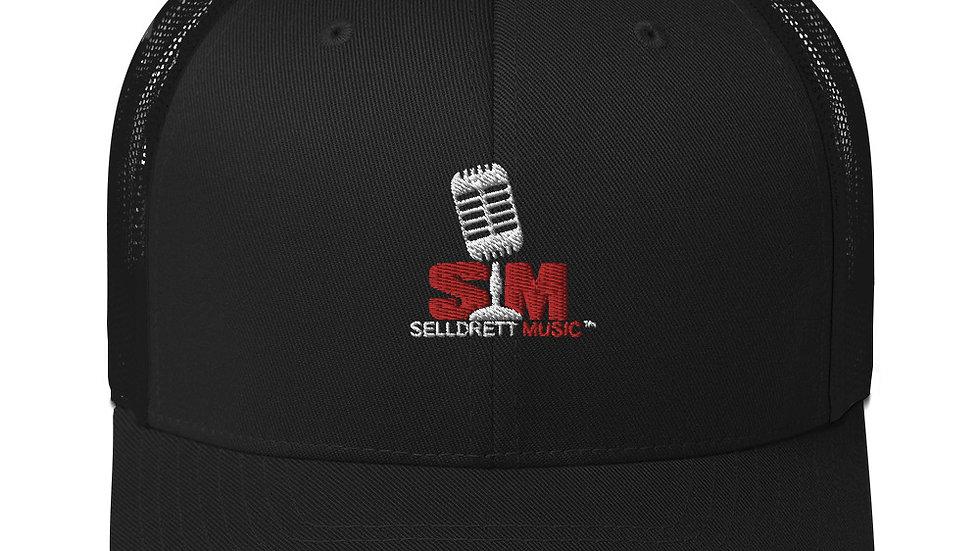 Selldretti Music Trucker Cap (Black)