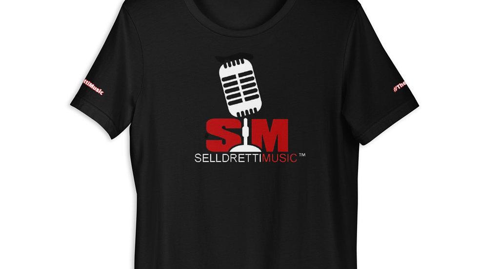 Selldretti Music Unisex Lightweight T-Shirt