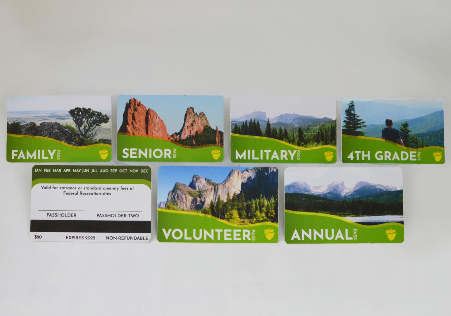 National Park Service Membership Cards