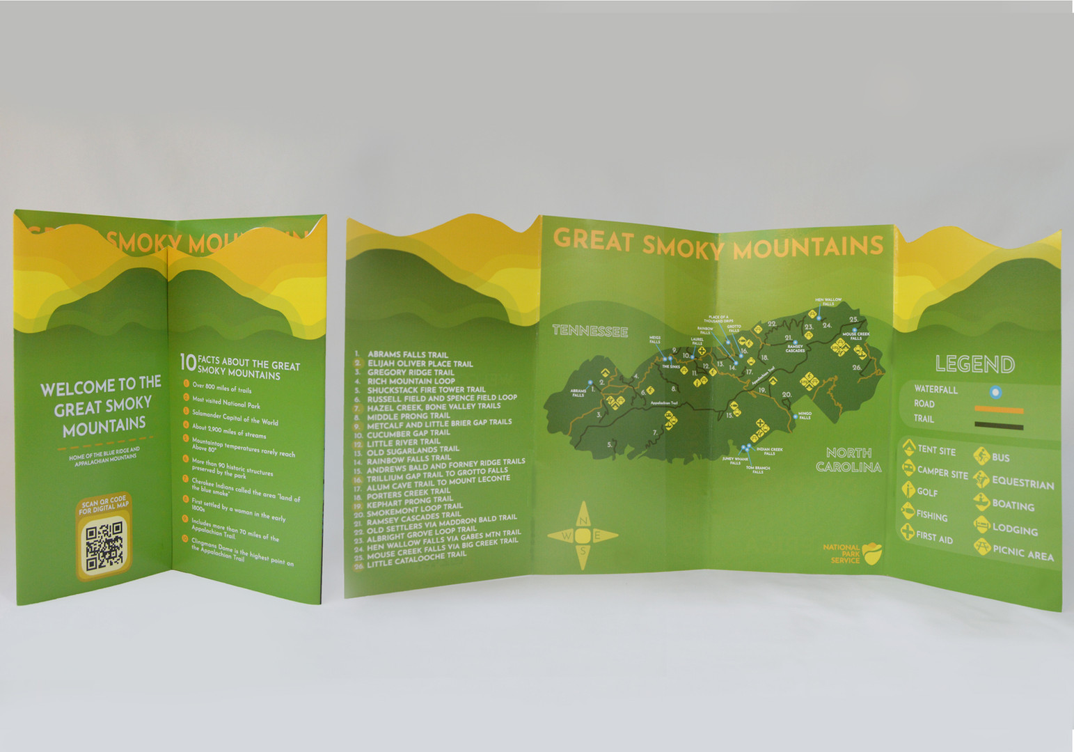 Great Smoky Mountains Brochure Inside