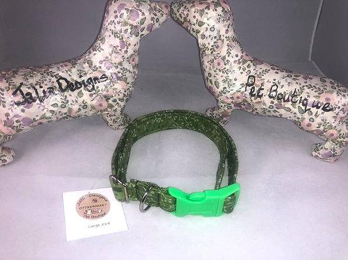 Large Green Dog Collar