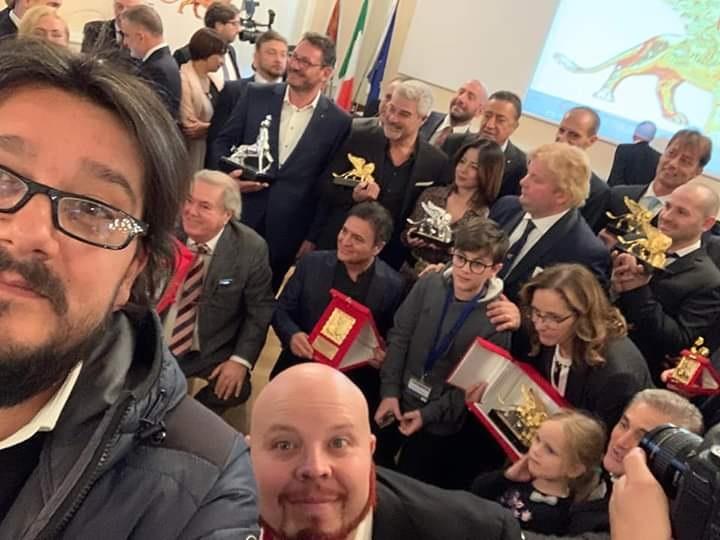 premiazioni al Grab Premio internzaional