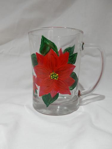 Poinsettia Mug