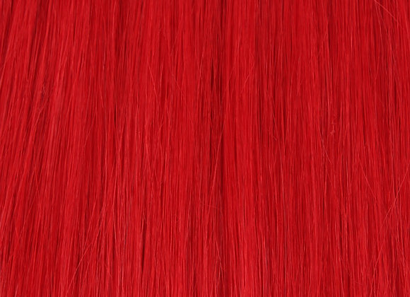 "Intense Red KG Hair Extension 24"" Length"