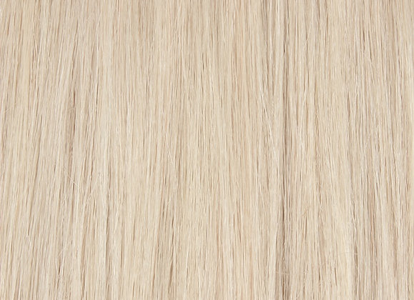 "Silver Blonde KG Hair Extension 18"" Length"