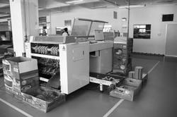 Automate grooving machine