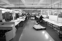 Manual box production line