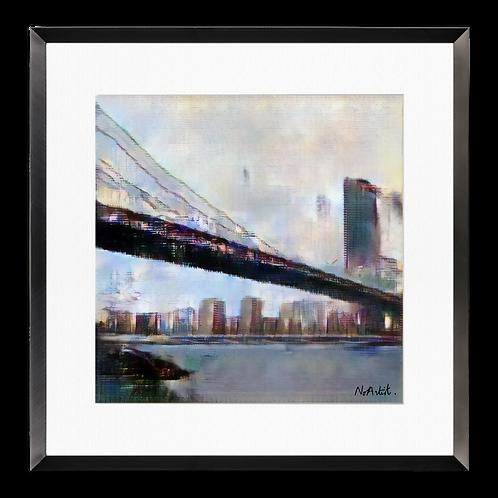 Brooklyn Bridge, 8am