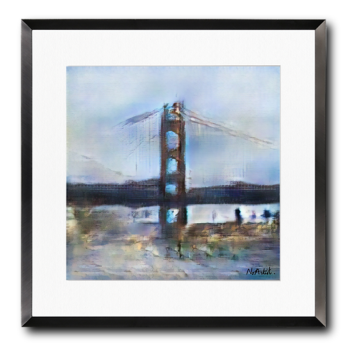 Golden Gate, automne