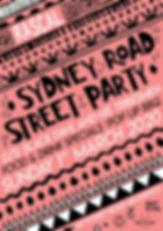 Sydney Road Festival '20 Poster FINAL2 s